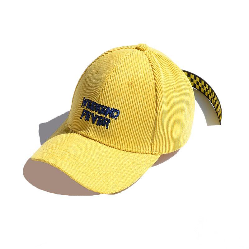 074b9268d5a93 Compre Patesun Mujeres De Moda Casquillo De Pana Casuales Lettles Sombreros  Para Damas Niñas Con Estilo Tapas Largas Casquillos Sombrero De Nueva Marca  ...