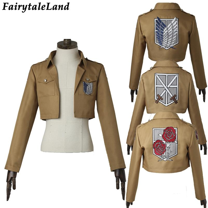 Shingeki Halloween Attack Ackerman No Rivaille Rival Titan Dhgate Cosplay Costume Costumes Prime03 com Kyojin 65 Unique 38 Jacket From On
