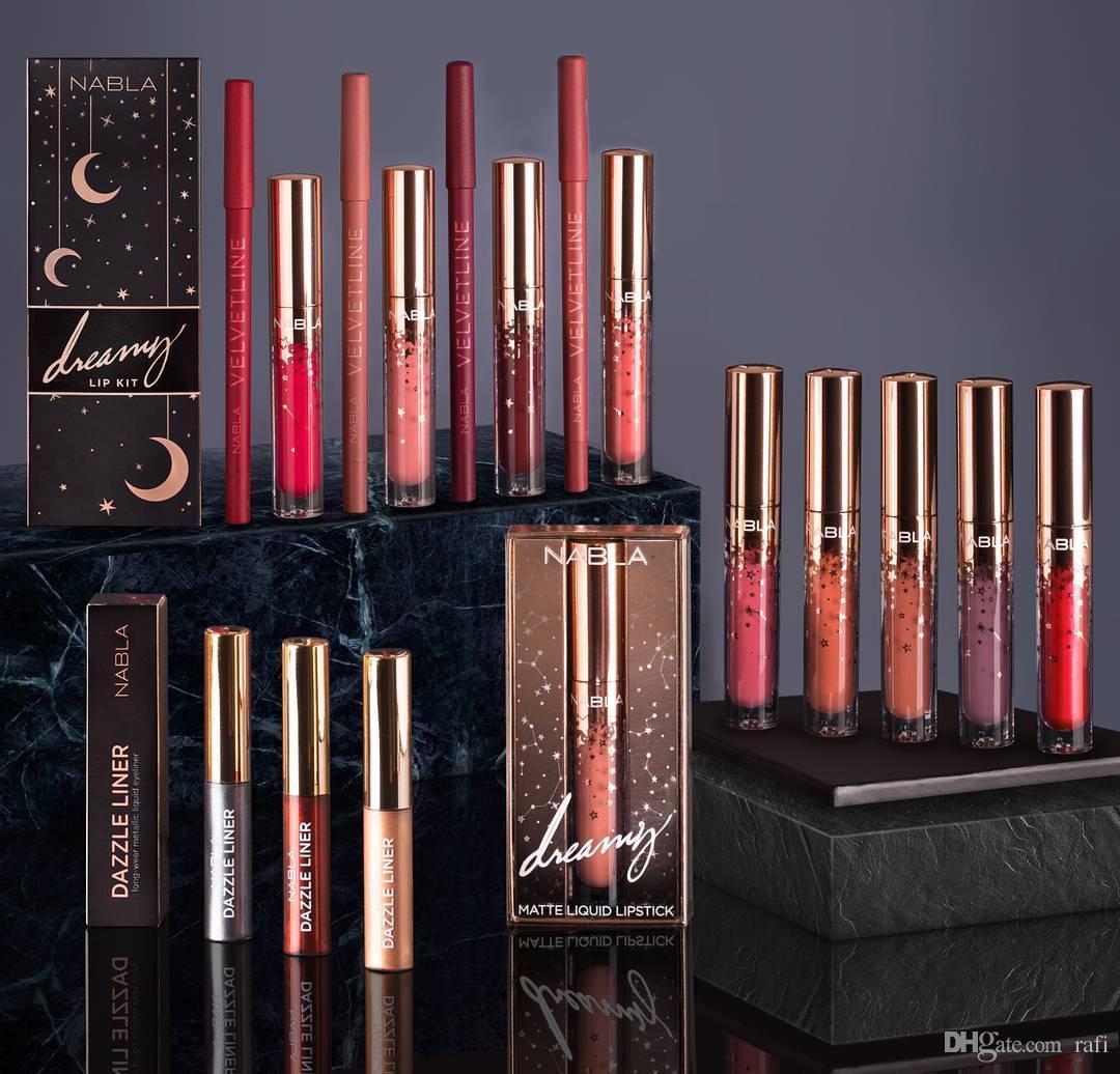 Cheap Price Nabla liquid lipstick 10 colors Nabla lip gloss star lipgloss  makeup lips beauty high quality long lasting matte lipstick