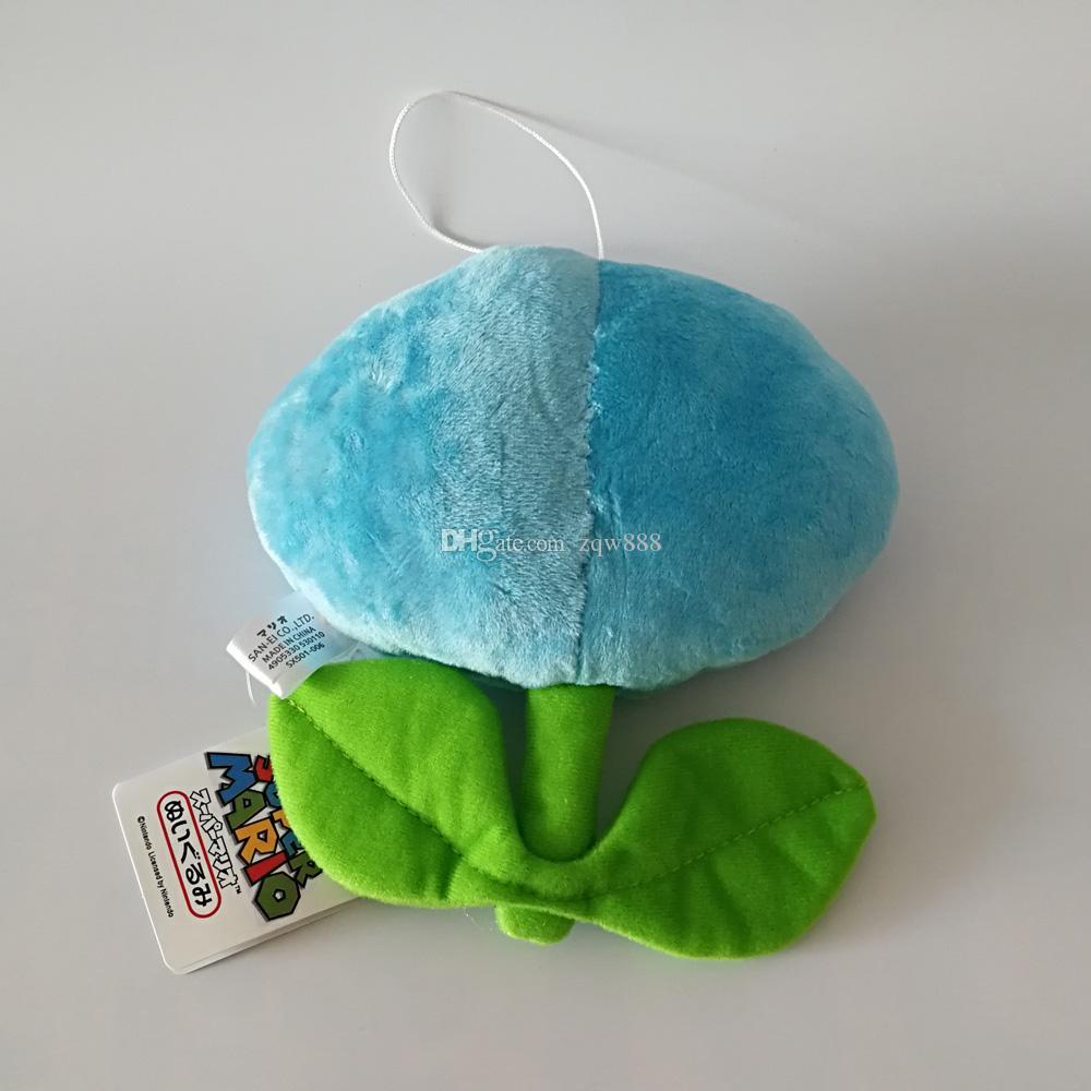 Il nuovo arrivo 100% cotone 17 centimetri Luigi Bros blu e rosso dei fiori della bambola degli animali farciti giocattolo Regali bambini