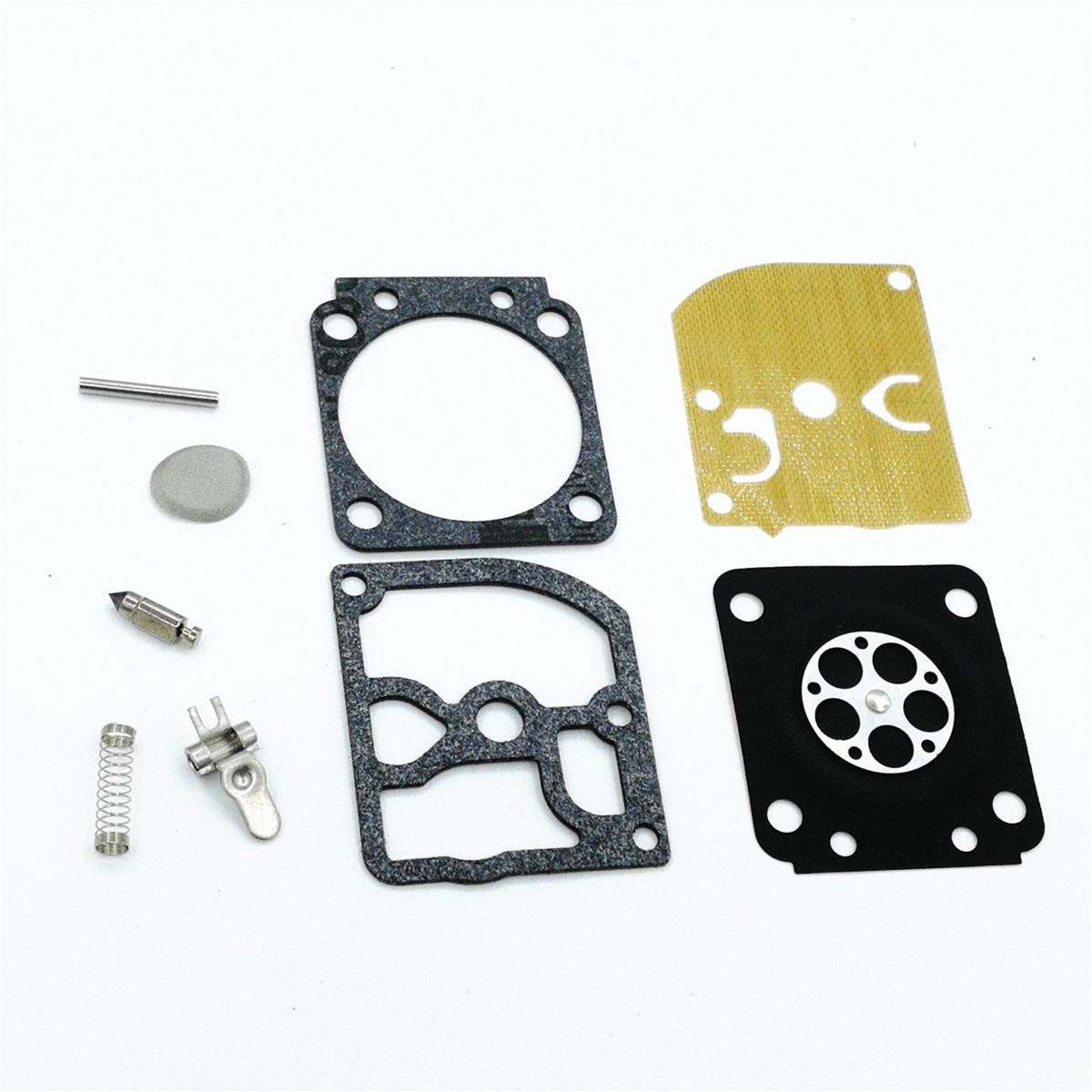 2 Sets Carburetor Rebuild Repair Kit For STIHL MS170 MS180 MS210 MS230  MS250 017 018 021 023 025 Chainsaw with Walbro Carburetor