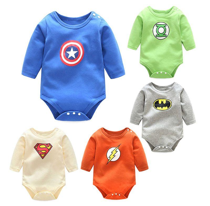 1a3f3677c Super Baby Rompers Underwear 100% Cotton Newborn Triangle Romper ...