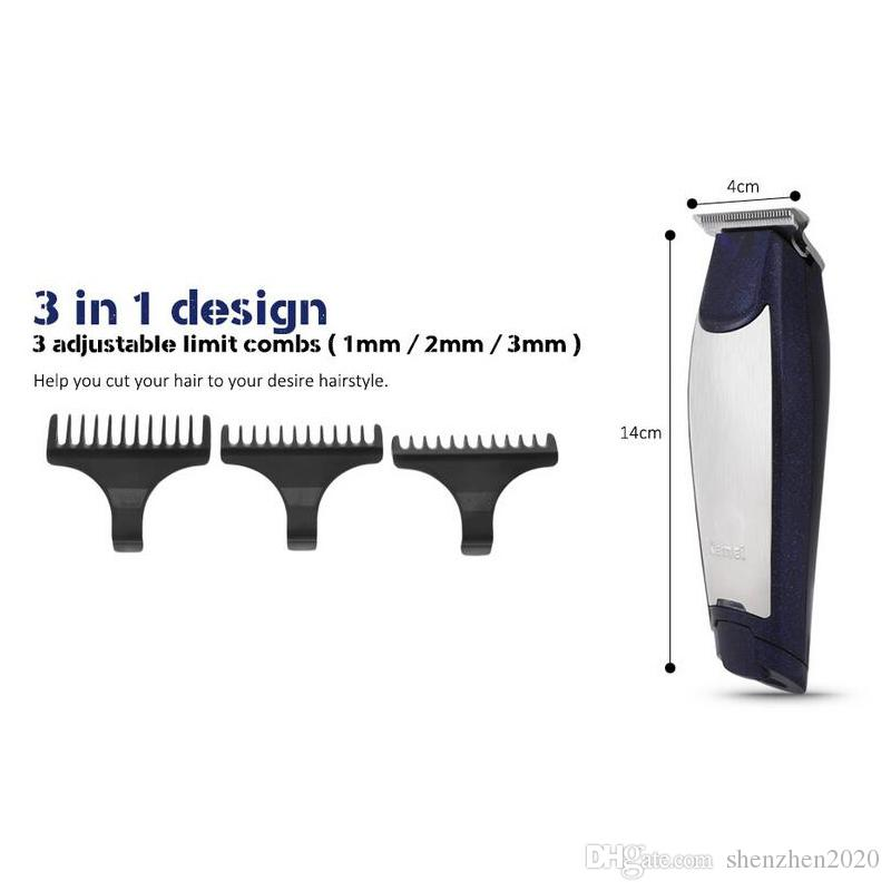 Kemei Km 5021 3 In 1 Professional Rechargeable Hair Trimmers Clipper