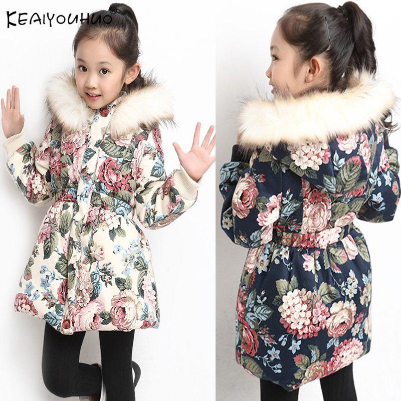 6e578e0856c4 Girls Coats Winter Jackets For Girls Coat Children Clothing Girls ...