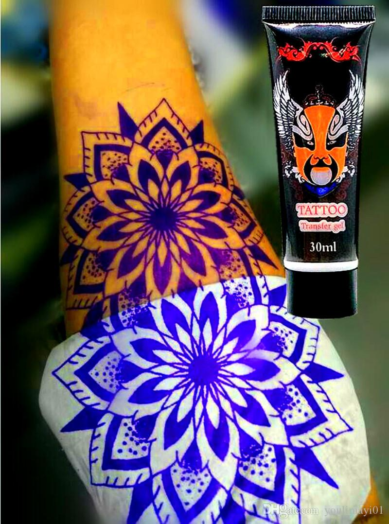 15/30/50ml Tattoo Transfer Cream Jelly Gel Body Paint Stencil Stuff Oils Reprintable For Transfer Paper Product Supply Tattooist