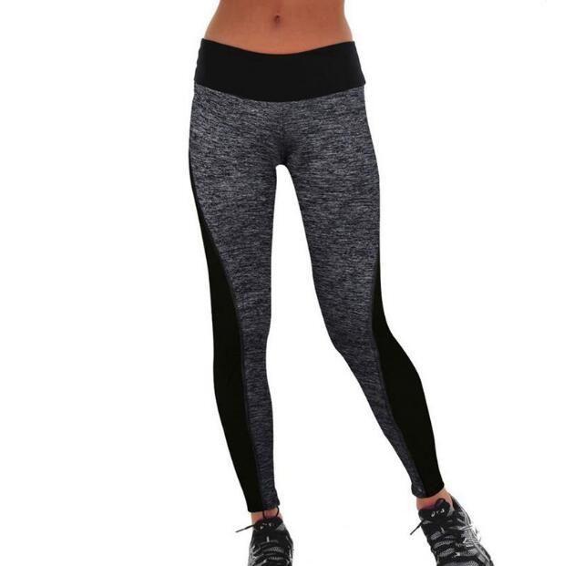 f992410ca Großhandel Frauen Hosen Workout Fitness Leggings Hosen Mode Frauen Sexy  Dünne Kunstleder Hohe Taille Legging Patchwork Hose Schwarz Von Lixlon02