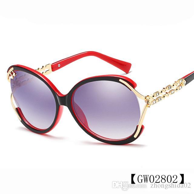2ea91b198d33 HINDFIELD 2018 Fashion Brand Women's Sunglasses Eyewear Sun Glasses ...