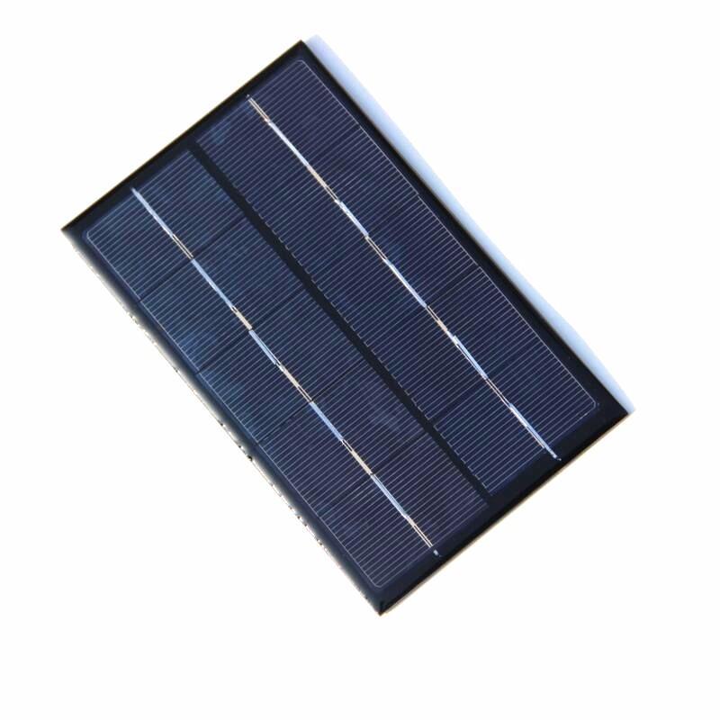미니 태양 전지 모듈 태양 전지 1.9W 5V 배터리 충전기에 대 한 작은 태양 전지 패널 DIY 다결정 88 * 142MM