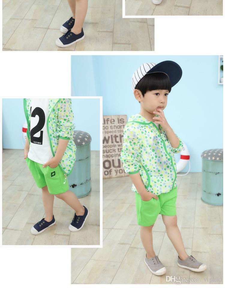 Ropa de verano para niños Nuevos pantalones cortos de algodón de dibujos animados Moda coreana Pantalones de verano para niños Modelos de marea Pantalones de dibujos animados para niños