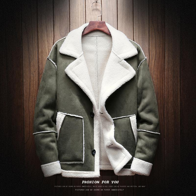 Großhandel Winterjacke Männer Wolle Dicke Warme Mantel Mode Lässig Große  Größe S 5xl Männlichen Baumwolle Kleidung Streetwear Pilot Bomber Outwear  Mann Von ... effb7b0abf