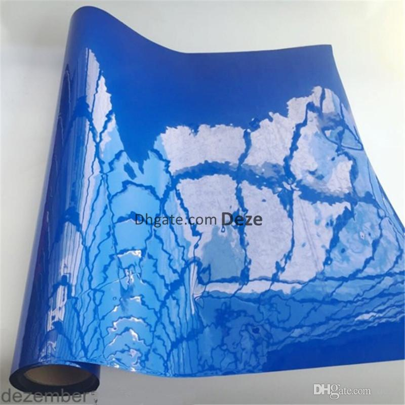 Wholesale 1 Roll 30cm High 15 Meters Long Glossy Aquarium Background Poster Double Sided Fish Tank Decorative Wall Backdrop Image Decor