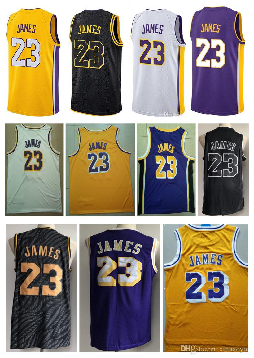 263f07d1f 23 LeBron James Jersey The City Whish Embroidery Logos 100% Stitched ...