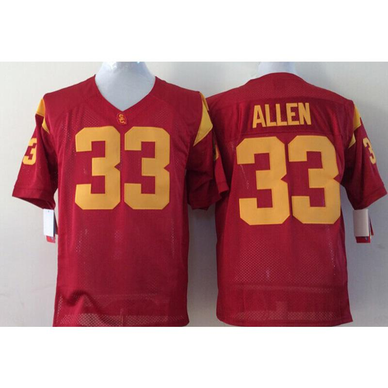 the best attitude 46419 b0c8d Mens USC Trojans Marcus Allen Stitched Name&Number American College  Football Jersey Size S-3XL