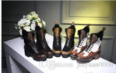 New 2018 Flatform Women S Combat Desert Boots Genuine Leather Ankle