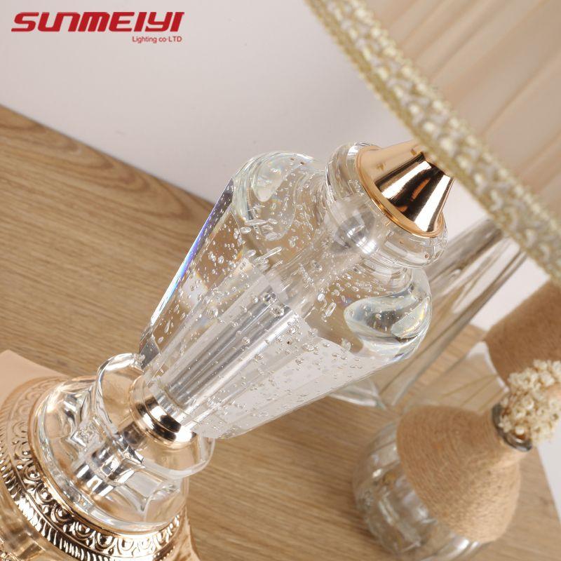 Fabrics Table Lamp Modern Art High Grade Eyeshield Desk Lamp For Home Bedroom Living Room Decoration Bedside Lamp