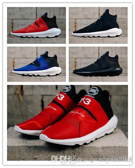 2018 New Top Y3 Yohji Kaiwa Chunky Dad Sneakers Men Women Y 3 Yamamoto Ninja  QASA Couples Suberou Green Fashion Outdoor Sports Shoes Deck Shoes Mens  Boat ... db4f37542a
