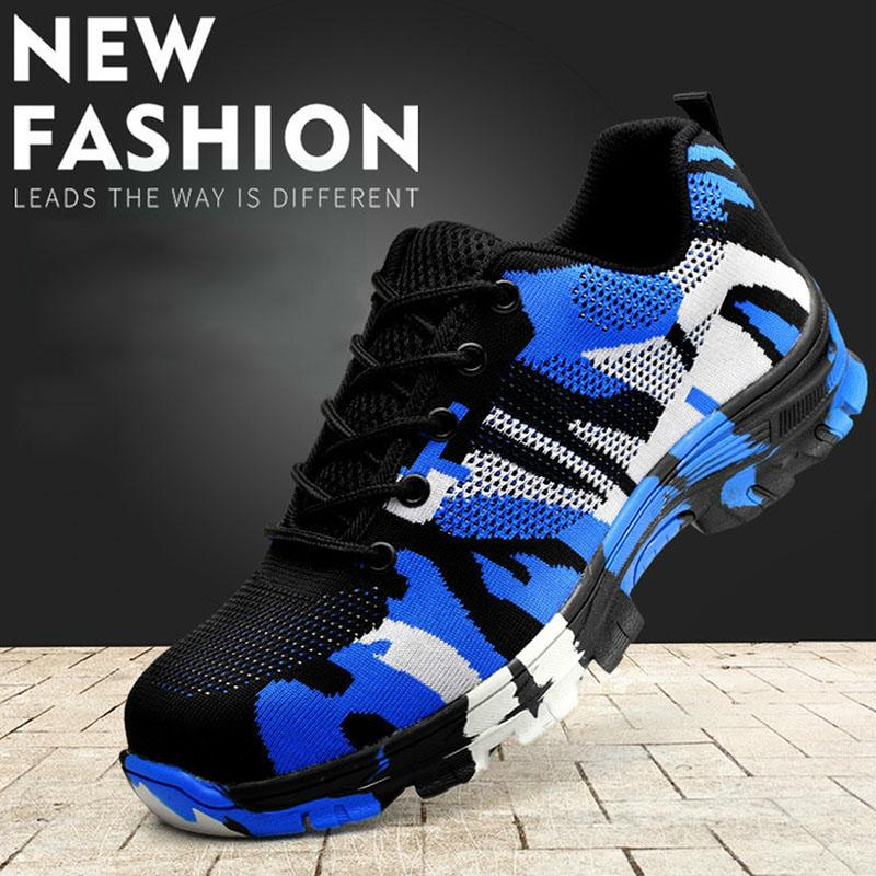 free shipping fca7d 483d0 2019 Smash And Piercing Safety Protective Shoes Men Shoes Steel Head  Breathable Electric Welding Insulated Protective From Wavewind,  33.35    DHgate.Com