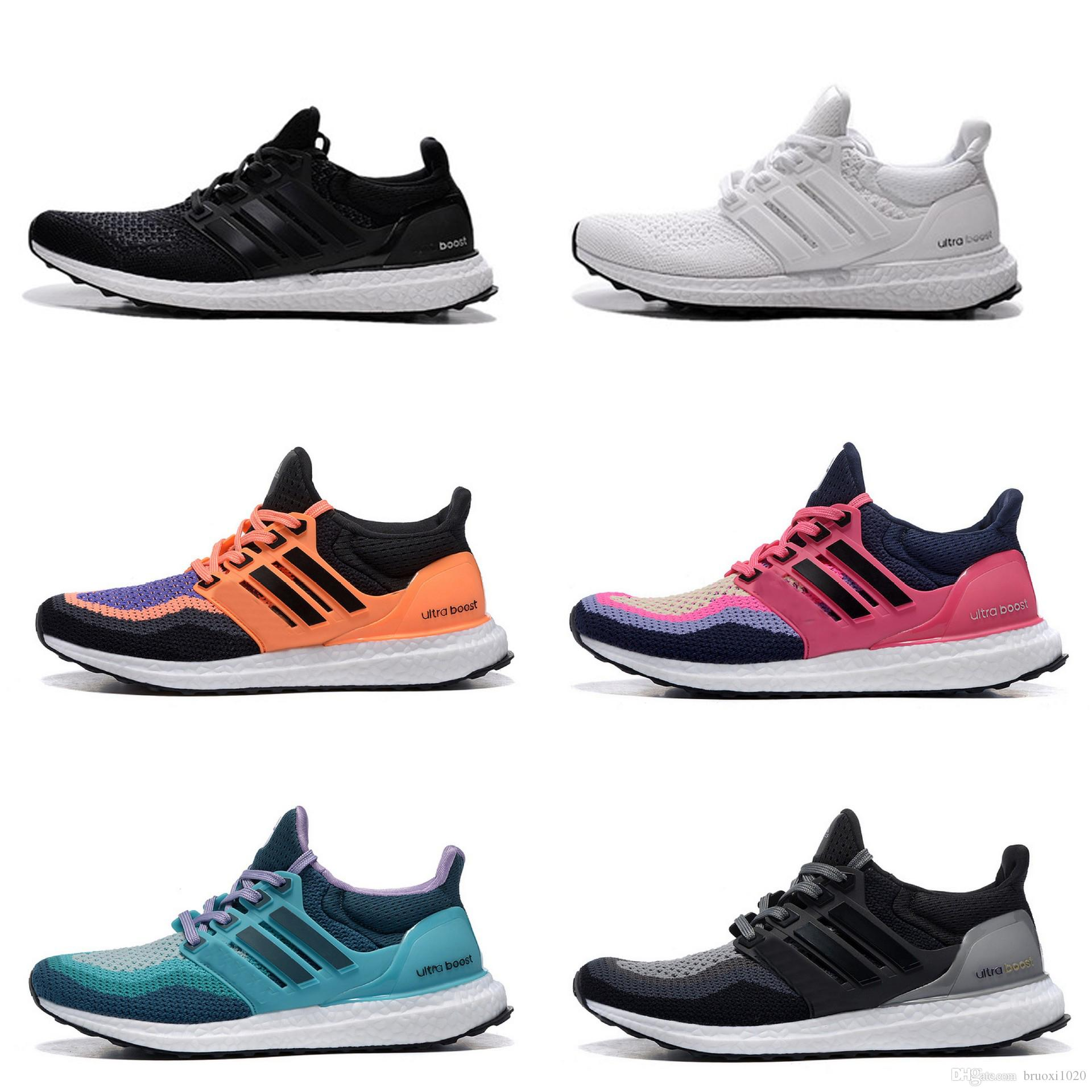 2017 New Ultra Boost Uncaged Black White Men Women Running Shoes Fashion  Tripple White Ultra Boosts Casual Shoes Ultrabost 36 45 Womens Running  Shoes Sport ... 02d643c6ca