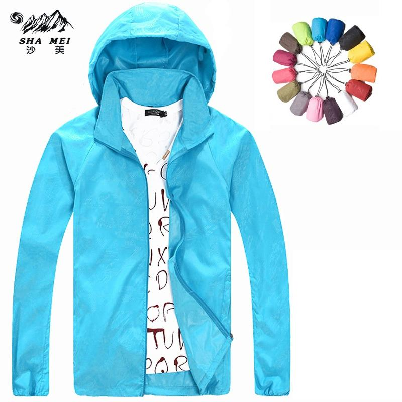 c6b1ccd5a593 2018 2017 New Men Women Camping Trekking Brand Coats Hiking Outdoor Jacket  Quick Dry Waterproof UV Protection Sports Skin Jackets Cheap New From  Feyenoord