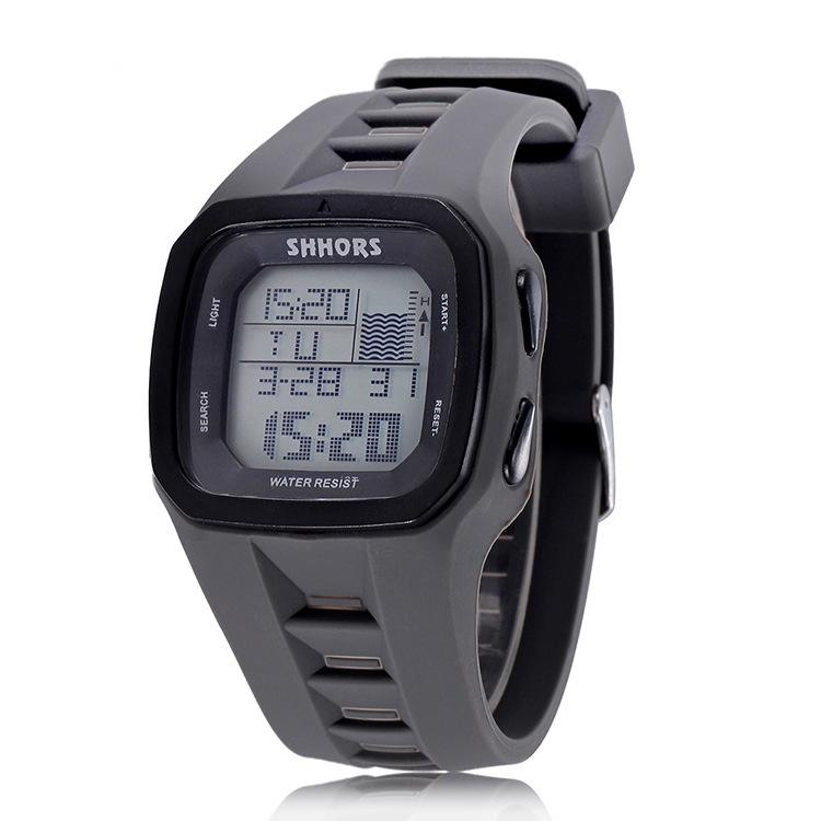 edb1428d5 Shhors Brand Sport Digital Watch Men Silicone Watches LED Electronic  Wristwatch Waterproof Clock Silicone Army Reloj Hombre 2017 Watchs Sport  Watches From ...