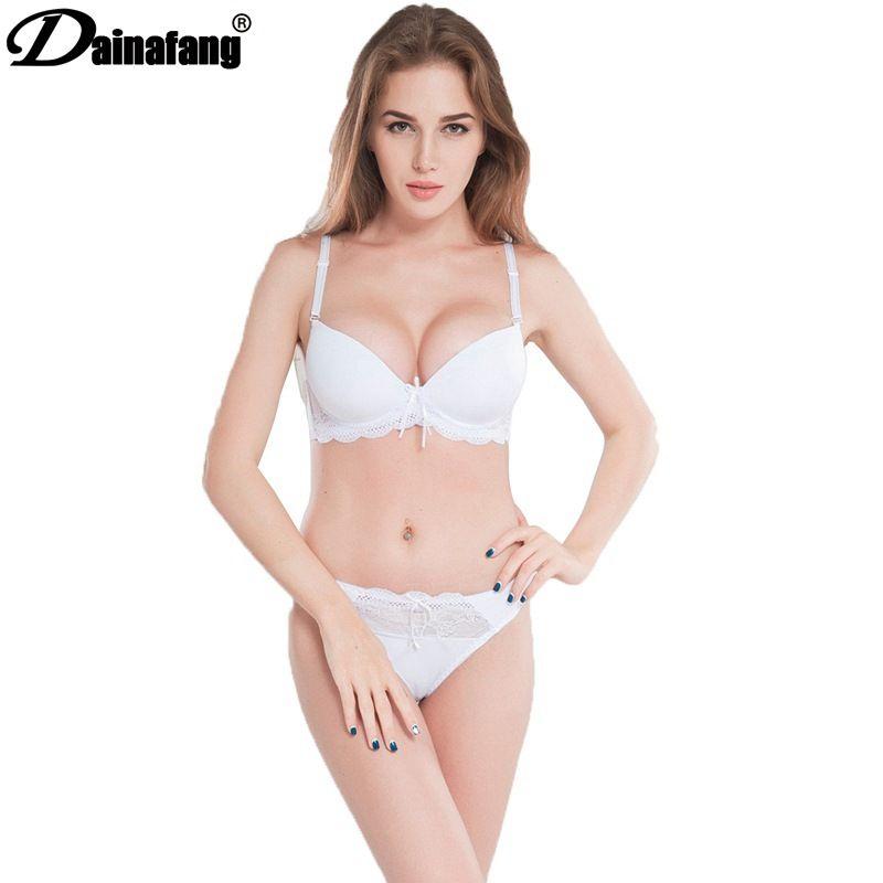 Brillant Sexy Frauen Spitze Ultradünne Push-up Unterwäsche Padded Up Bh Set 32b-36b Yrd Unterwäsche & Schlafanzug