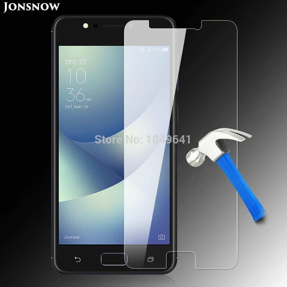 Tempered Glass For Asus Zc520kl Screen Protector 9h 25d Explosion Protection Zenfone 2 55 Proof Lcd Film 4 Max 52 Inch Phone