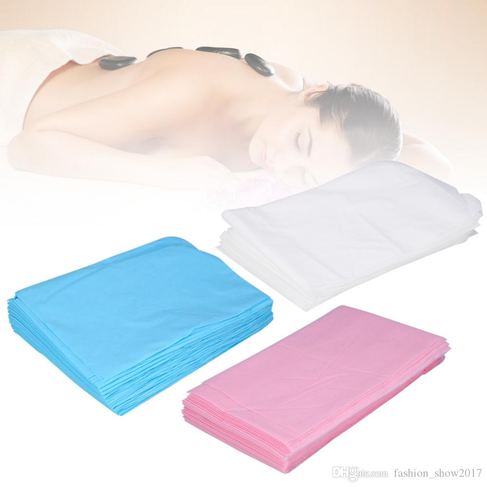 New 80 X 180cm Waterproof Disposable Spa Bedsheet Non Woven Beauty Salon Massage  Bedsheets Table Cover Travel Medical Use Itchiness During Menstruation ...