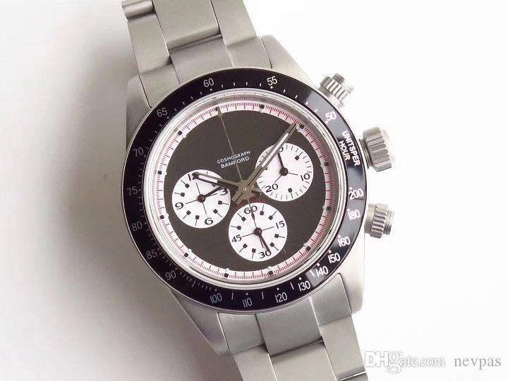 530fd4d3275 Compre Luxo ST19 Mão Liquidação Relógio Para Mulheres Dos Homens 6240 6263  Top Quality 37 MM Dia Tona Relógios De Pulso Do Vintage Paul Newman Mens ...