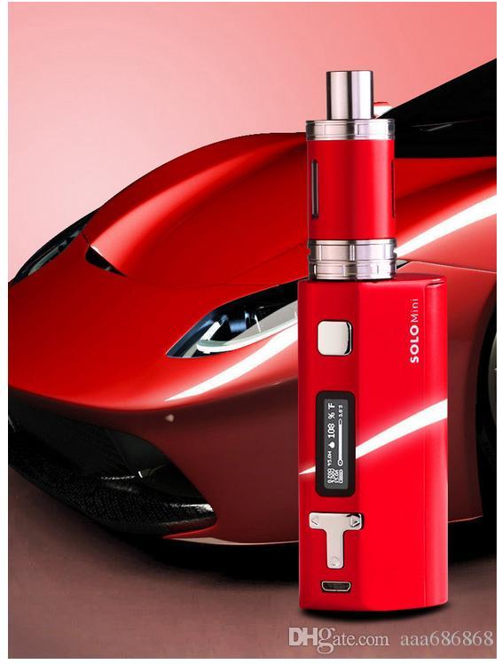 electronic cigarette mini steam smoke 80W big power set hookah vape pens kits atomizer vaporizer tank safe and health ecig High Quality