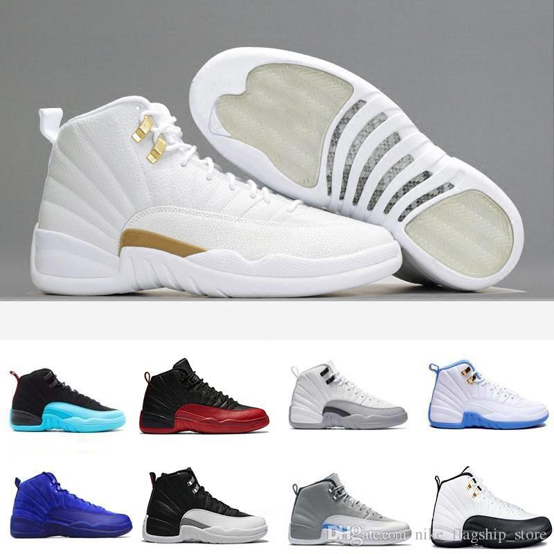 42d2bf9ef321 12 XII 12s Men Basketball Shoes Flu Game Dark Grey Bordeaux the ...