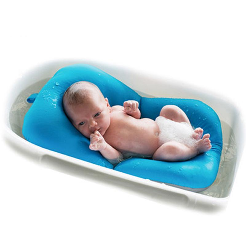 Non-Slip Baby Tubs Infant NewBorn Bath Pad Bathtub Mat Safety Bath ...