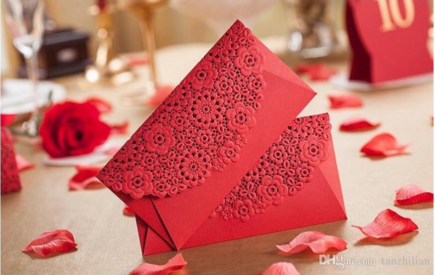 Романтическая карта конверты для свадьбы, Свадьба пользу мешок подарка деньги конверт высокое качество красный мешок пакеты бесплатная доставка 100 шт.