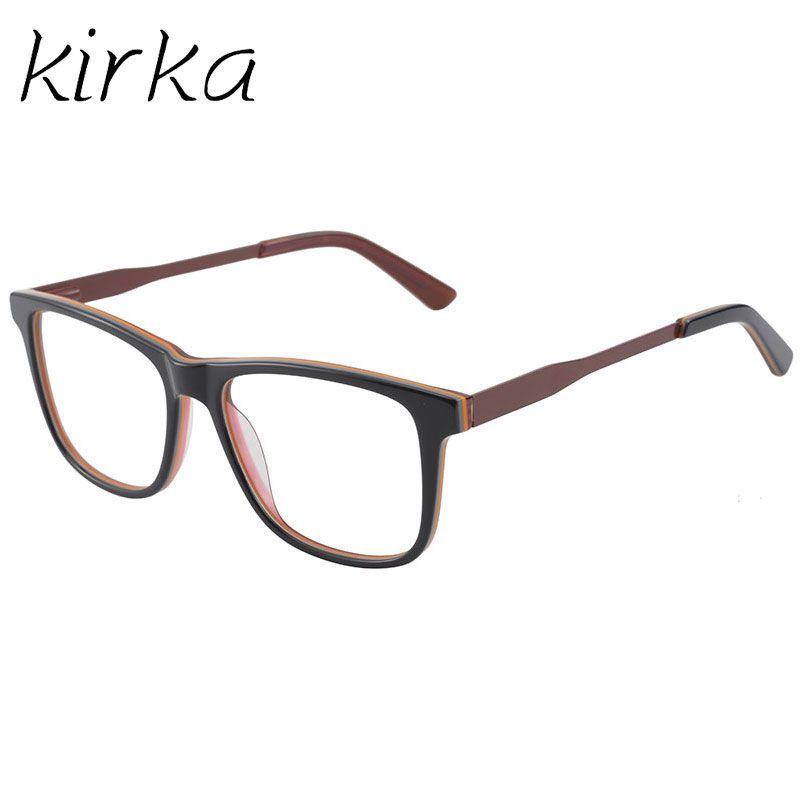 9a57d4d5ce Kirka Acetate Spectacle Frame Eyeglasses Stylish Color Men Computer ...