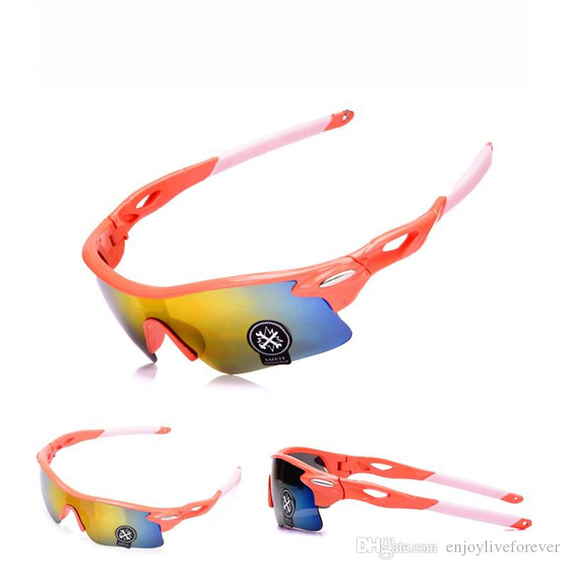Bicycle Cycling Eyewear UV400 Sunglasses Glasses Outdoor Sun Glasses Mountain Bikes Sport Explosion-proof Goggles