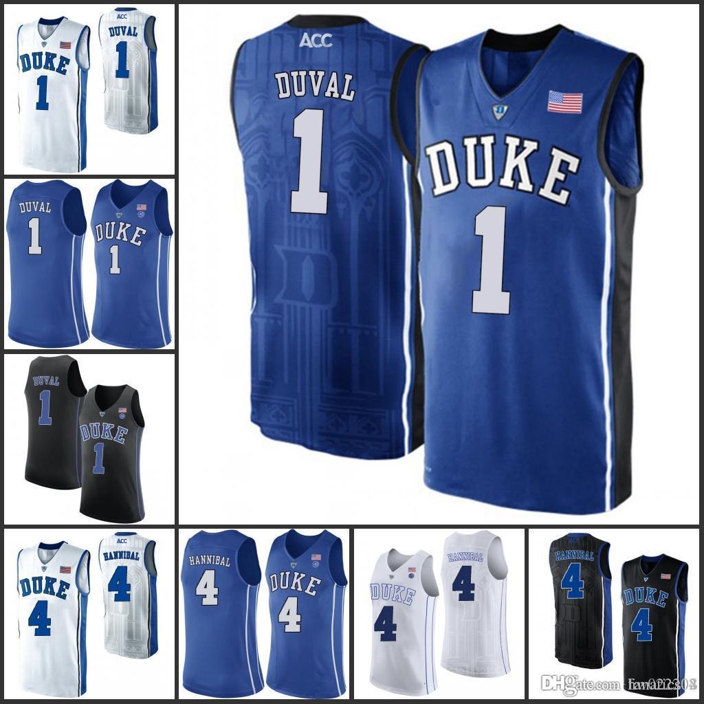 0569a8ee8 Duke Blue Devils College Basketball Jerseys 3 Garyson Allen 1 Harry ...