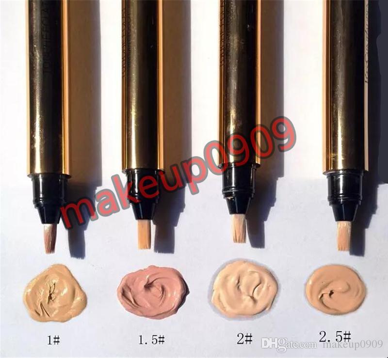 4 couleurs Touche Eclat Radiant tactile Correcteur Maquillage naturel Correcteur Crayons populaire Correcteur Touche Eclat Crayons photo réelle de 2,5 ml