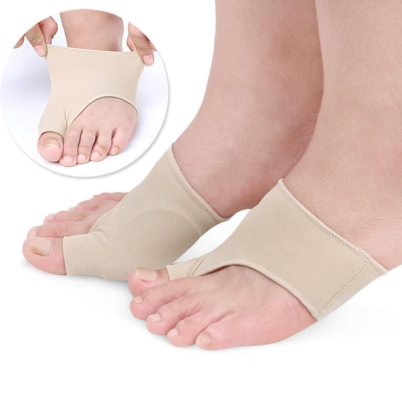 1 Paar Corrector Orthesen Fuß Pflege Knochen Daumen Teller Korrektur Pediküre Socken Bunion Haarglätter 2018 Produkte Fußpflege-utensil Haut Pflege Werkzeuge