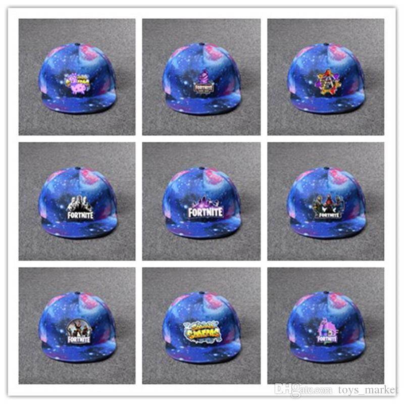 2f80b915abe Fortnite Luminous Caps Starry Sky Hats Galaxy Fortnite Hat Teenager Baseball  Cap Summer Sunhat Hip Hop Hat 40th Birthday Party Hats 40th Birthday Party  ...