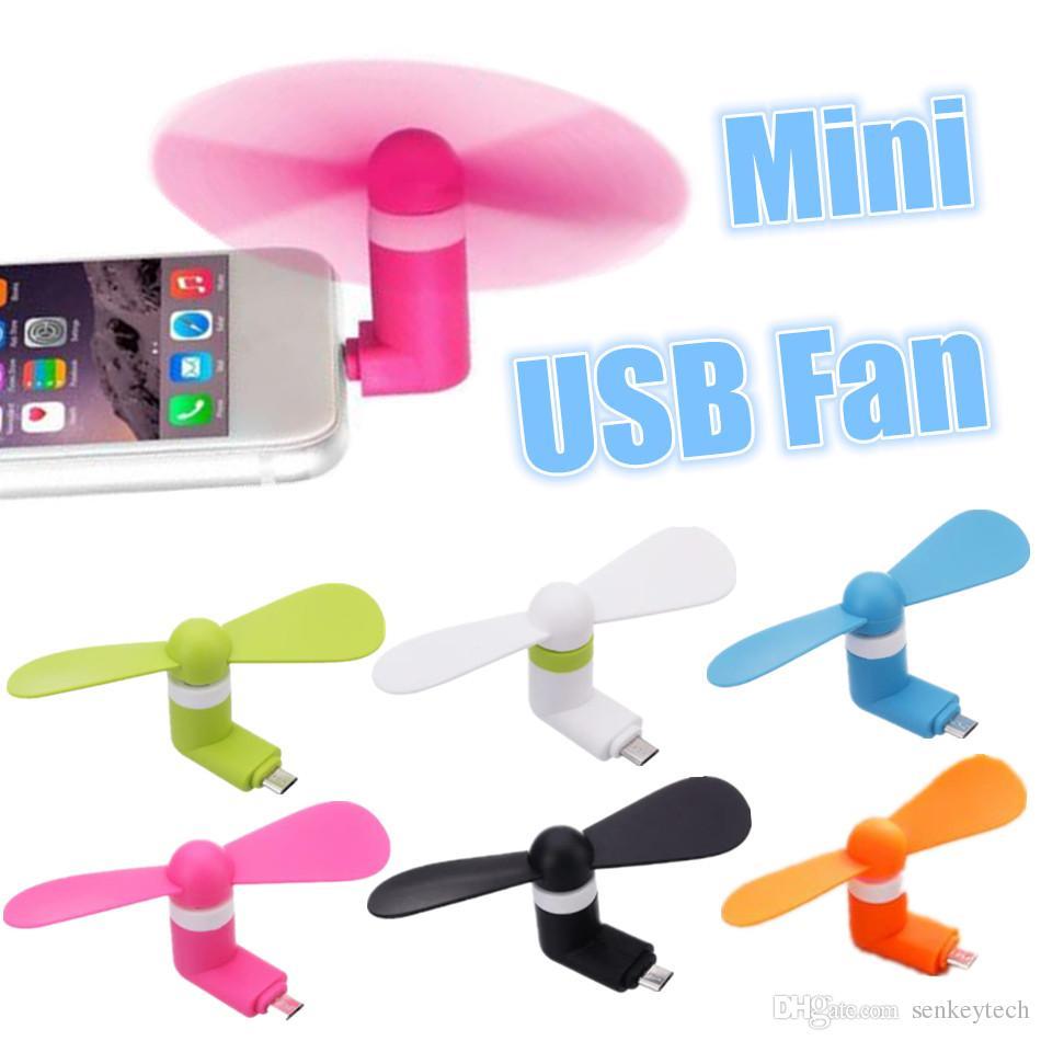 Kleine Klimaanlage Geräte Haushaltsgeräte ZuverläSsig Mini Kühlung Micro Tragbare Flexible Usb Elektrische Fan Für Android Telefon Laptop Desktop