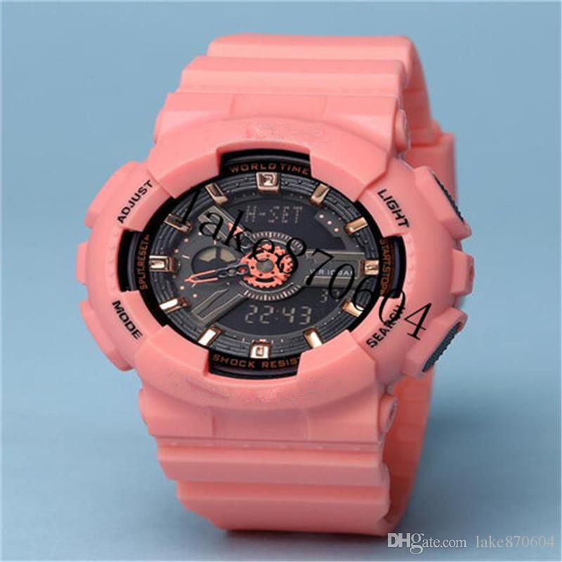 89a82dcdda87 Compre AAA TOP Mujer Militar Camuflaje Militar Digital Reloj GIRL Estilo  Moda Deportes Choque Ejército Reloj LED Relojes Electrónicos A  17.63 Del  ...