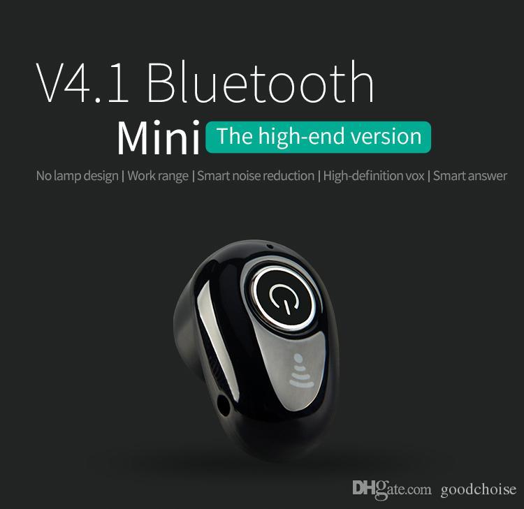 S650 S530 VS البسيطة سماعة بلوتوث لاسلكية في الأذن الرياضة مع هيئة التصنيع العسكري سماعات يدوي سماعة سماعة الأذن لنموذج جديد