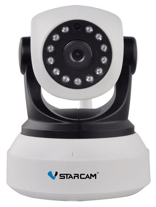 Vstarcam C7824wip IP-Kamera Home Security Onvif 2.0 HD 720p Wireless-Kamera Baby- / Tiermonitor Cctv Ip Ir Nachtsicht Wifi 64 Tf-Karte Whitee