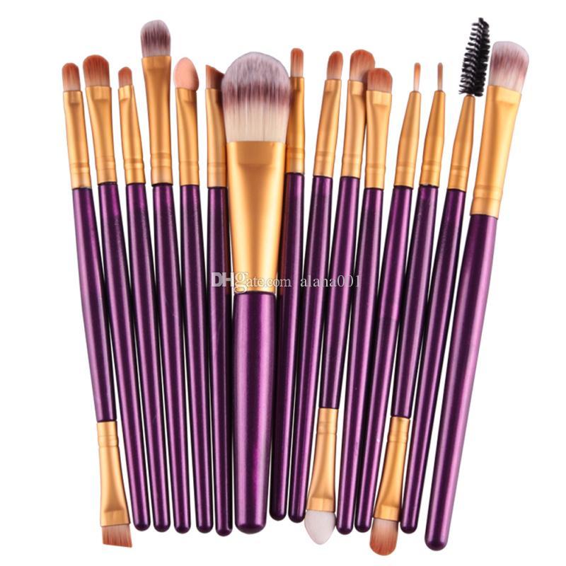 Makyaj Fırçalar Seti Pudra Fondöten Göz Farı Eyeliner Dudak Fırçası Aracı Marka Yukarı Fırçalar Güzellik Araçları MAG5168 olun