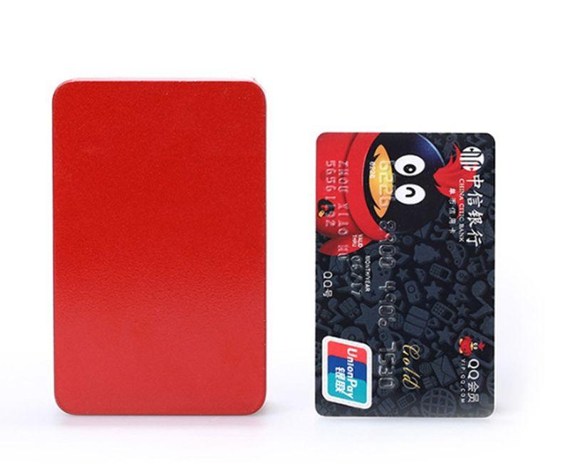 Fast shipping 10*6.4*3.2cm Tinplate metal Tea Tin box rectangle tea candy business card storage box case
