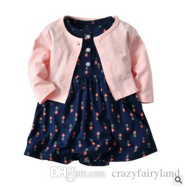 c1dd4134fd3f 2019 New Baby Girl Dress Regular O Neck Dresses For Girls Cotton ...