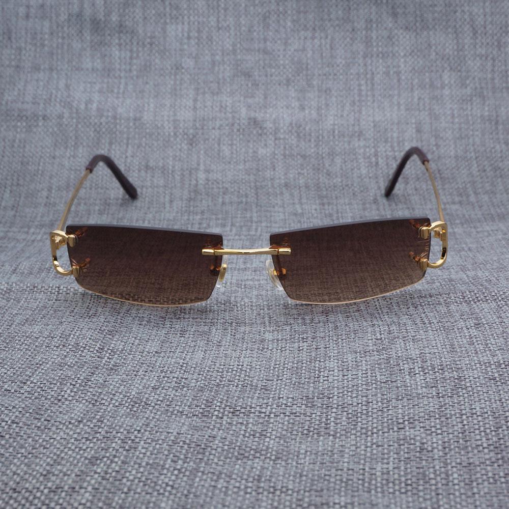 Vintage Sunglasses Men Oculos Square Sunglasses Luxury Italian Retro ...