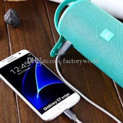 HOT Bluetooth sound box newer Factory direct cylindrical box structure portable bass gun audio belt mobile power supply