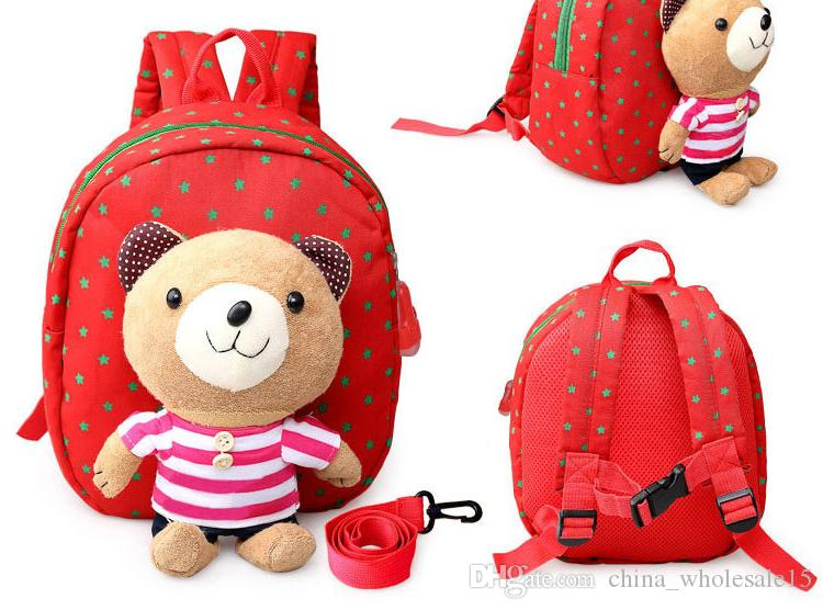 989de139a4 2019 ACI 398 2018 3D Cartoon Plush Children Backpacks Kindergarten Schoolbag  Animal Kids Backpack Children School Bags Girls Boys Backpacks From ...