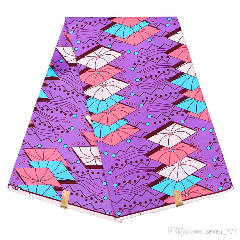 African Prints Wax Fabric 100 Polyester Ankara Fabric Excellent