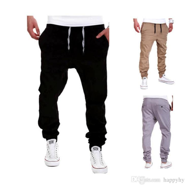 Compre Joggers Para Hombre Hiphop Baja Baja Caída De La Entrepierna Para  Jeans Hip Hop Sarouel Dance Baggy Pantalones Pantalons Hombre Harén  Pantalones ... 35dc1d1f510